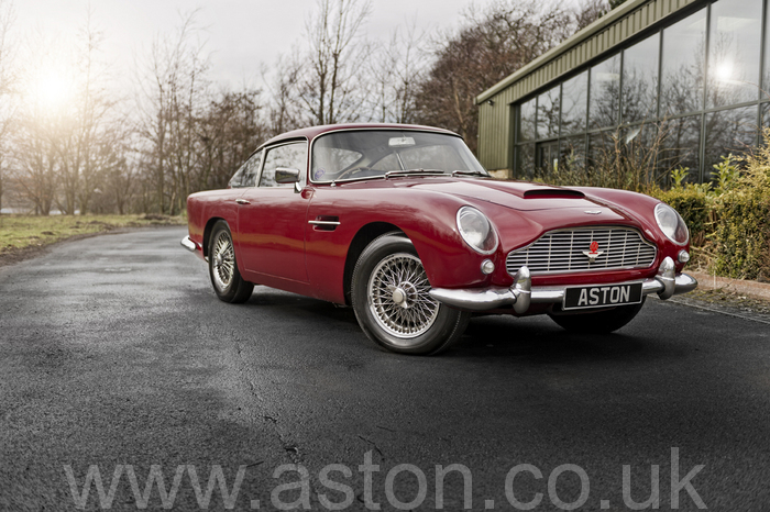 1962 DB4 Vantage Special Series Engine