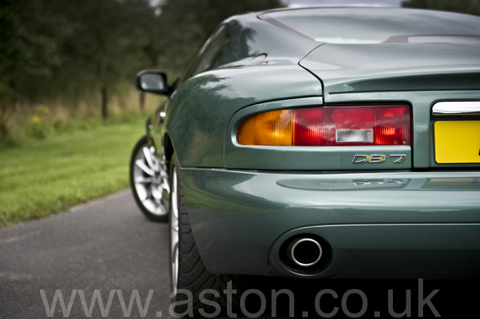 DB7 V12 Vantage 2000 For Sale From The Aston Workshop