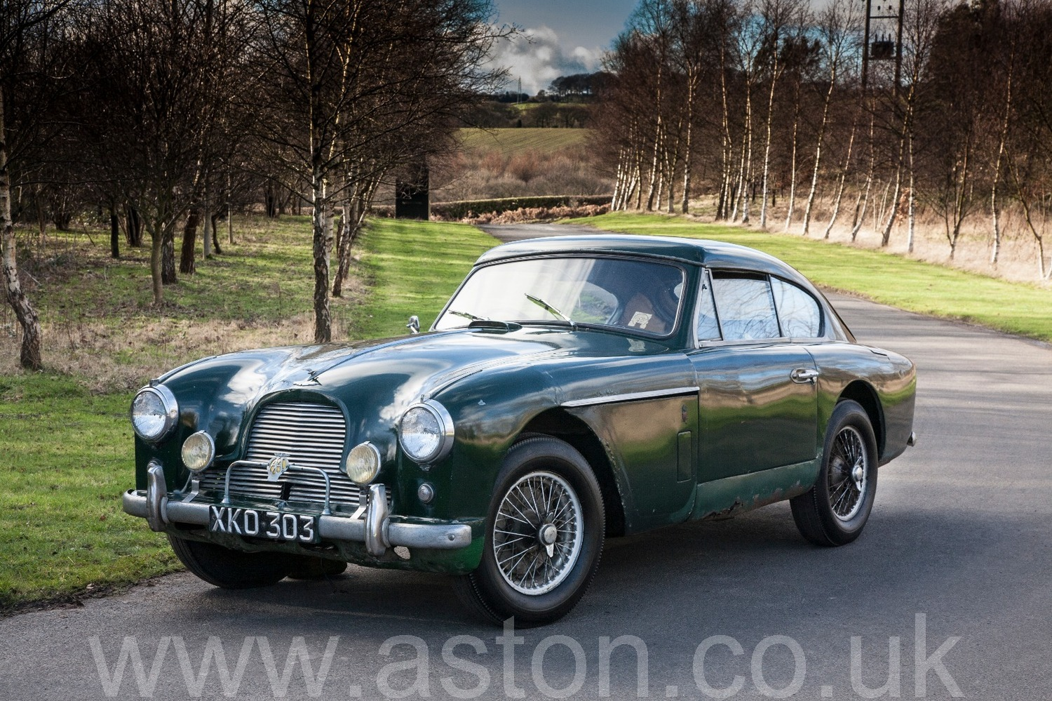 DB MKII Project Car For Sale From The Aston Workshop - Aston martin restoration project for sale