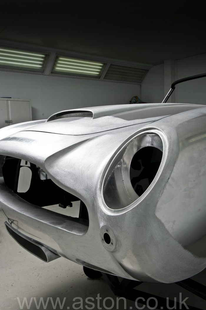 1964 aston martin convertible restoration front
