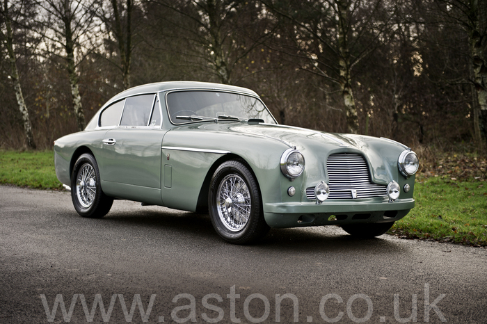 DB2/4 MKII 1957 for sale from the Aston Workshop AW021214