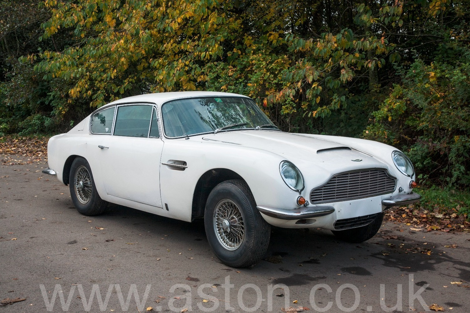 Db6 Mki Project 1967 For Sale From The Aston Workshop Aw301015b