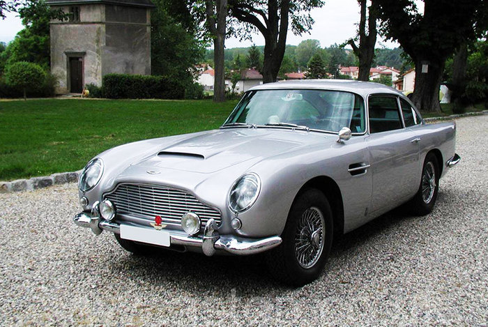 LHD DB5 Coupe