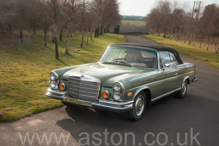 Mercedes Benz 280 SE Convertible