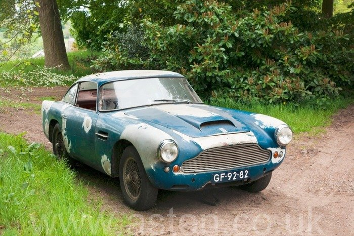 1959 LHD  DB4, 5th car made EX Geneva Show Car