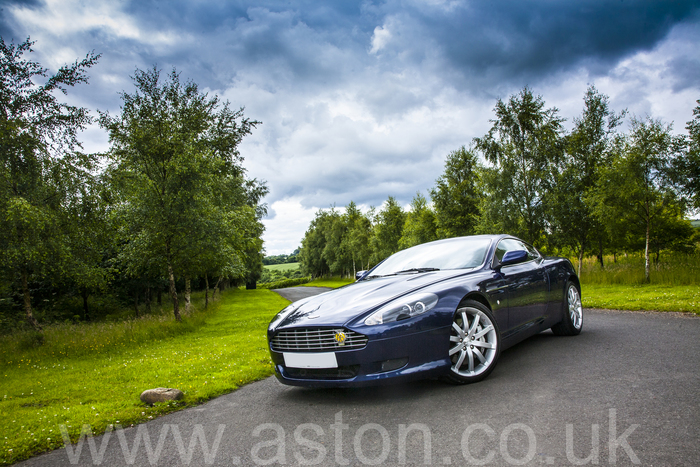 Aston Martin DB9 Coupe LHD