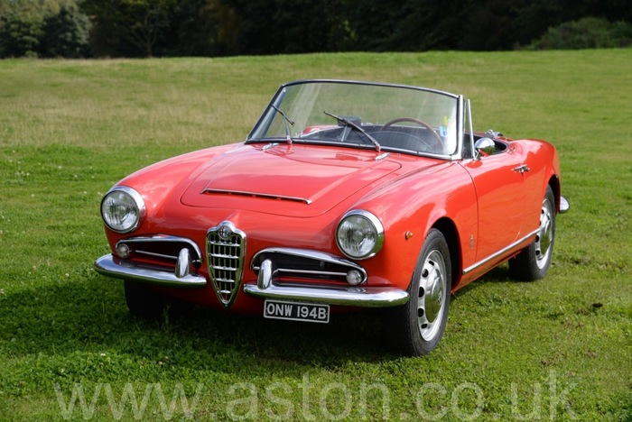 1963 Alfa Giulia Spider to full factory Veloce Spec