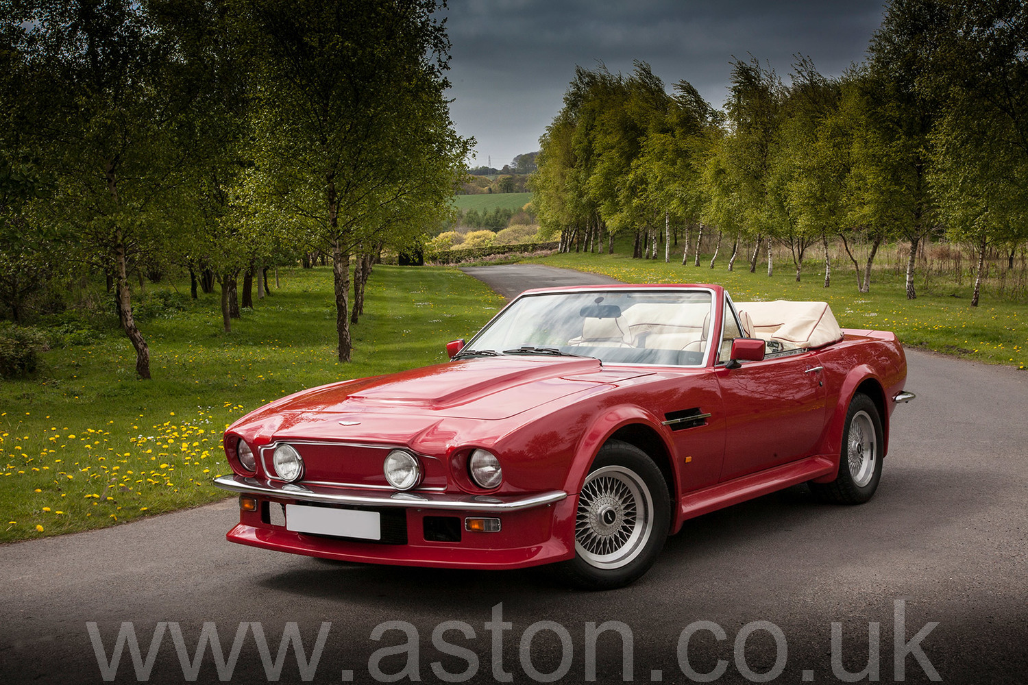 1988 V8 Vantage Volante X Pack For Sale From Aston Workshop Aw090517