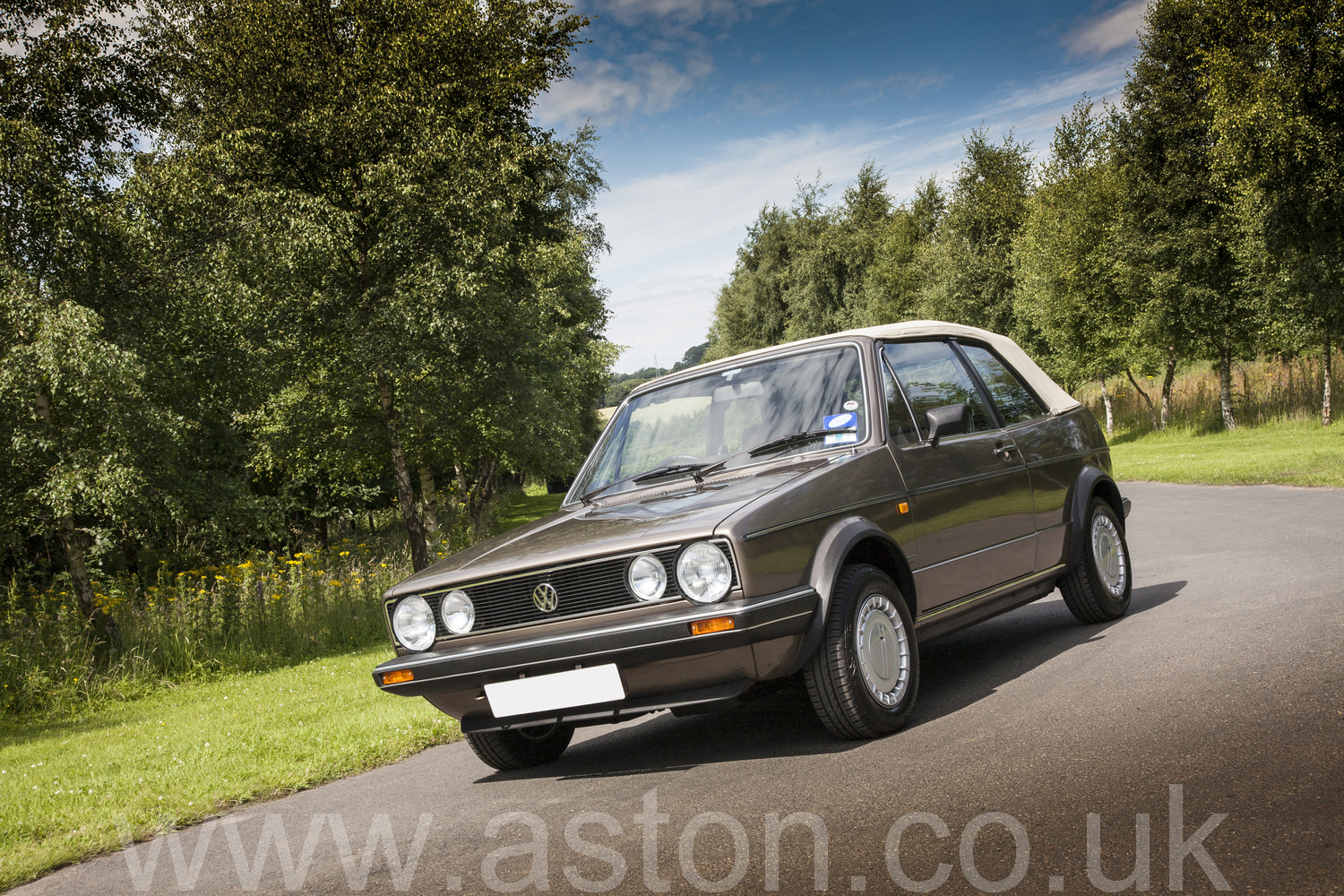 1987 Vw Golf Convertible For Sale From Aston Workshop Aw260717