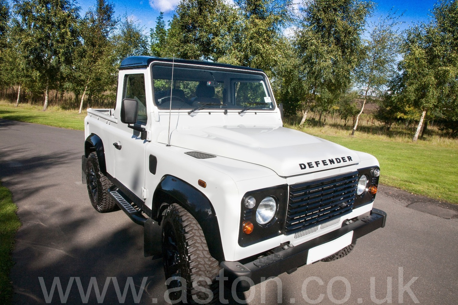 Land Rover Defender 90 Pickup For Sale From Aston Workshop Aw220917b Pick Up Sold 2016