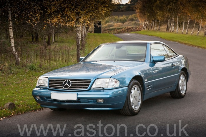 1997 Mercedes -Benz SL320