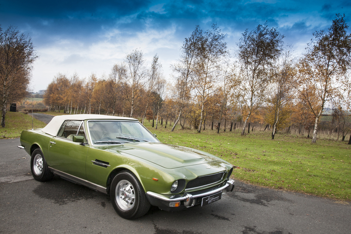 1979 Aston Martin V8 Volante 6 Speed Automatic