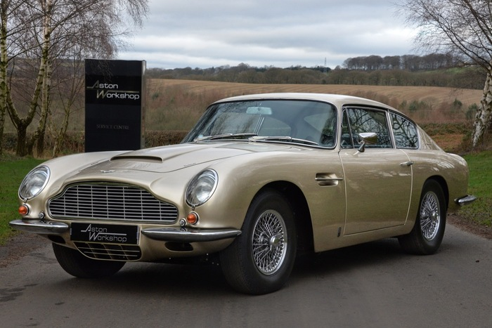 1967 (AW Restored) Striking Autumn Gold DB6 MKI