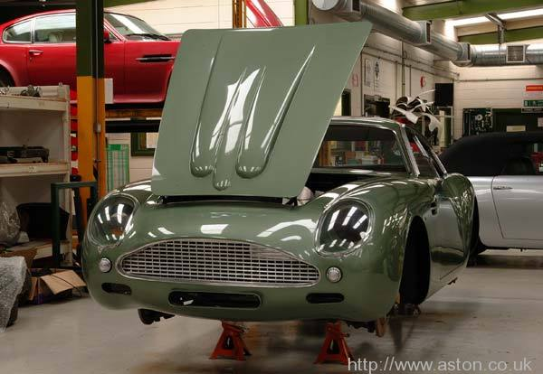 DB4 Zagato recreation
