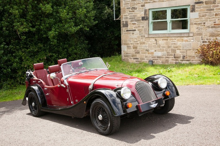 New Unregistered Morgan Plus 4 4 seater Tourer