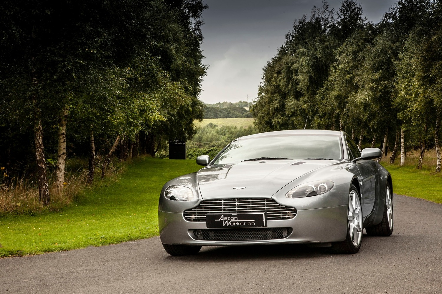 2007 Aston Martin V8 Vantage Coupe Manual Aw200819a