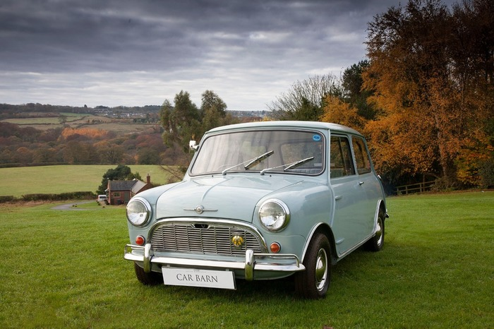 MORRIS–MINI-MINOR SUPER DE LUXE MK1 850cc