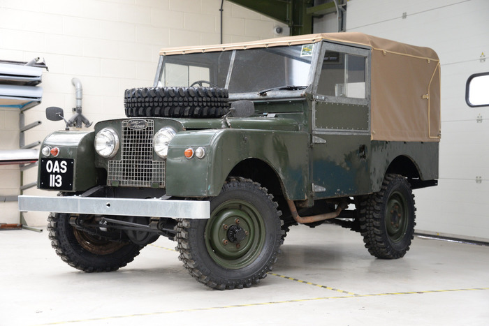 1958 Land Rover Series 1 88""
