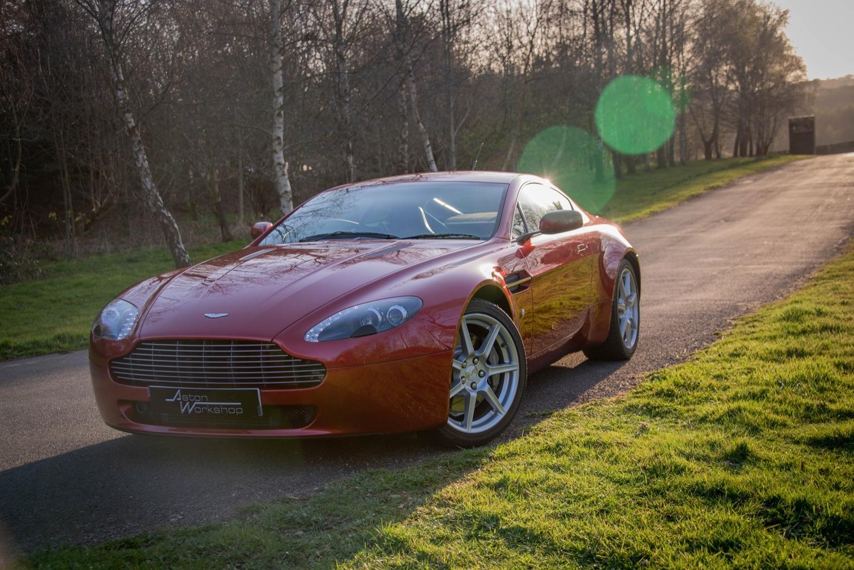 2006 Aston Martin V8 Vantage 4 3 Aw100420