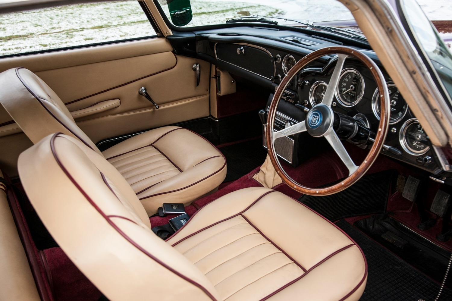 Db4 Series 2 Saloon 1960 For Sale From The Aston Workshop