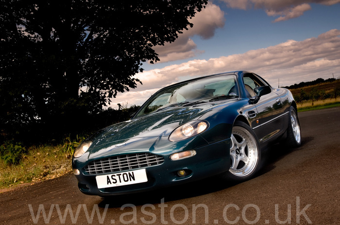 aston martin db7 coupe 1997 for sale from the aston workshop. Black Bedroom Furniture Sets. Home Design Ideas