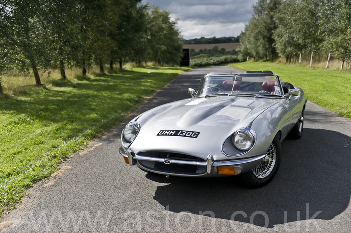 Jaguar E-Type 4.2 Series 2 Convertible